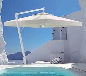 Grand Parasol Déporté : parasol d port terrasse de restaurant et h tel grand parasol excentr de luxe ~ Teatrodelosmanantiales.com Idées de Décoration