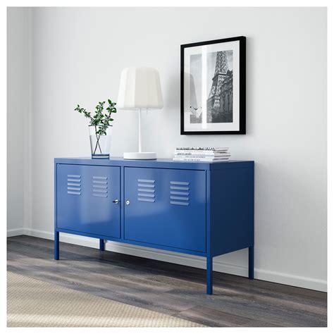 bureau metal ikea ikea ps cabinet blue 119x63 cm ikea