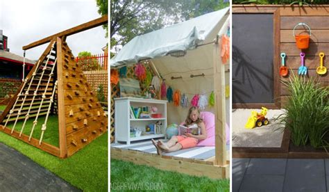 outdoor building projects 25 playful diy backyard projects to your