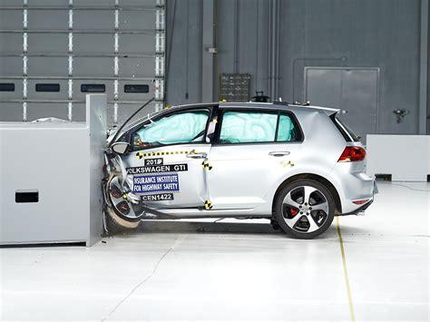 Crash Test by 2015 Volkswagen Gti Driver Side Small Overlap Iihs Crash