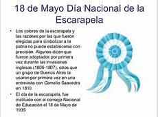 18 de mayo, Día de la Escarapela Nacional Imágenes con