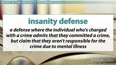 insanity defense definition famous cases pros