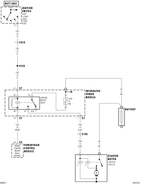 Dodge Ram Ignition Switch Wiring Harnes by I Need A Color Coded Ignition Wiring Diagram For A 2004