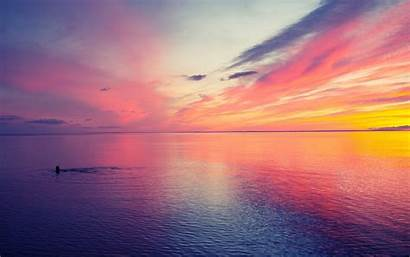 Sunset Pretty Wallpapers Desktop Background Backgrounds