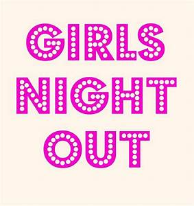 girls night out library movie night clip art | Family ...