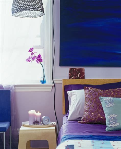 purple and blue bedrooms bold color schemes for bedrooms 16812   blue purple bedroom 56a08d973df78cafdaa2ac8b