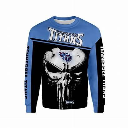 Titans Skull Tennessee Punisher