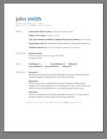 Free Resume Templates Doc Primer S 6 Free Resume Templates Open Resume Templates