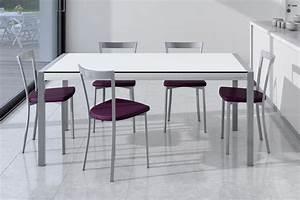 Esstisch Glas Weiß : esstisch concept glas wei aluminium von cancio m bel letz ihr online shop ~ Eleganceandgraceweddings.com Haus und Dekorationen