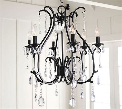 pottery barn celeste chandelier celeste chandelier 6 arm blackened finish at