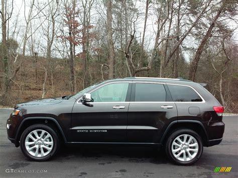 jeep grand cherokee brown 2017 luxury brown pearl jeep grand cherokee limited 4x4