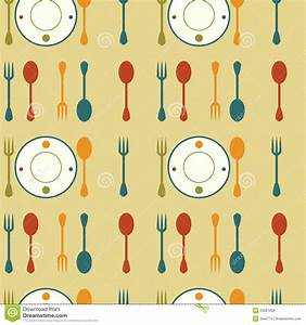 Retro Dishes Background Royalty Free Stock Images - Image ...