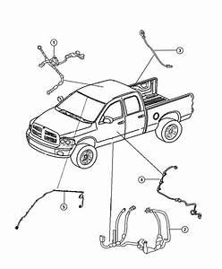 2012 Dodge Ram 1500 Wiring  Wiring Kit  Tailgate  Tailgate