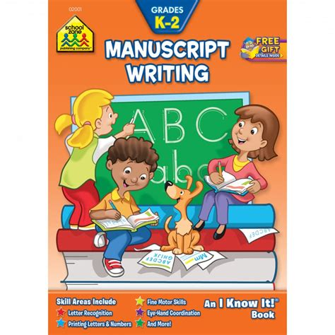 0008151601 starting school workbook ages manuscript writing k 2 is packed with writing practice