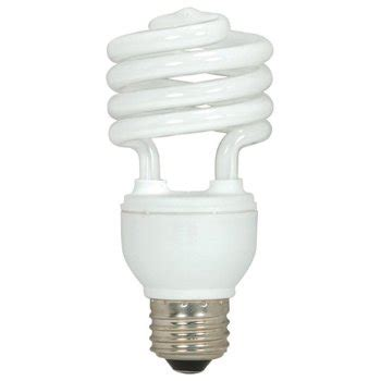 15w 120v t2 e26 mini spiral cfl bulb by satco lighting at