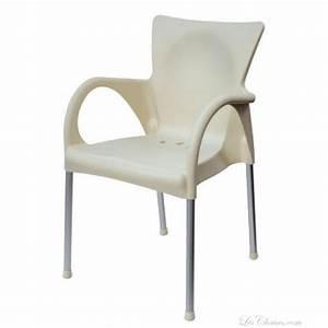 Fauteuil Plastique Jardin : fauteuil de jardin design beverly et fauteuils jardin aluminium rouge blanc noir ~ Teatrodelosmanantiales.com Idées de Décoration
