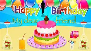 Birthday wishes for Friend (HD) Happy Birthday E greeting ...