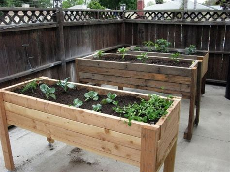 how to build planters for vegetables diy waist high planter box your projects obn