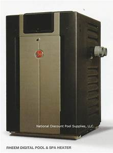 Rheem 406 000 Btu Digital Pool Heater
