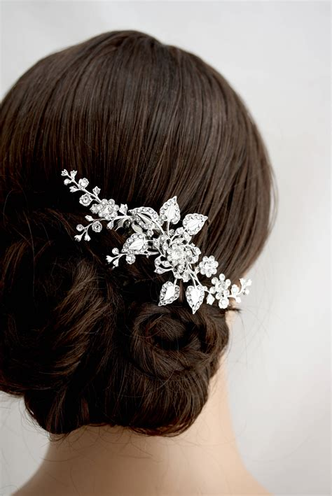 Bridal Hair Accessories by Bridal Hair Comb Wedding Hair Wedding Hair