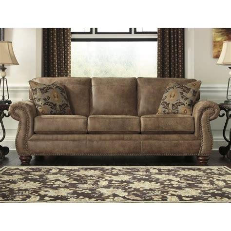 Larkinhurst Sofa Sleeper by Larkinhurst Faux Leather Size Sleeper Sofa In