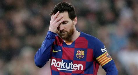 Messi could miss the La Liga re-start match against Mallorca