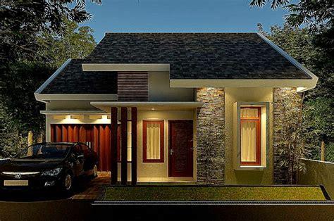 desain rumah minimalis satu lantai desain rumah