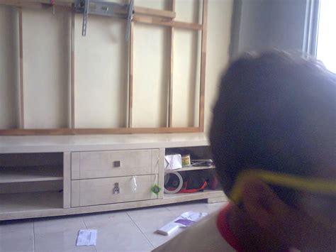 jom diy rumah  diy buat sendiri kabinet tv build