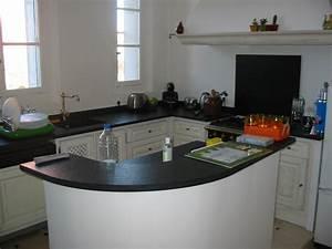 Plan De Travail De Cuisine : plan de travail de cuisine granit ~ Edinachiropracticcenter.com Idées de Décoration