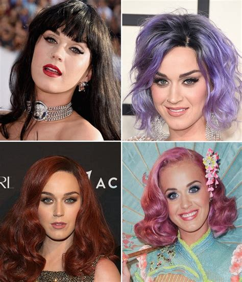 Katy Perrys Hair Color Changes — Why Shes Always