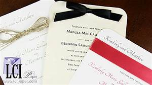 lci paper company handmade specialty paper wedding autos With lci paper wedding invitations