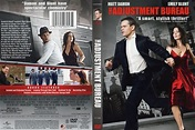 The Adjustment Bureau (2011) WS R1 - Movie DVD - CD Label ...
