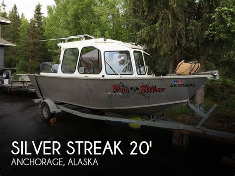 Used Outboard Motors For Sale Anchorage Alaska by For Sale Used 2010 Silver Streak 20 Runabout In Anchorage