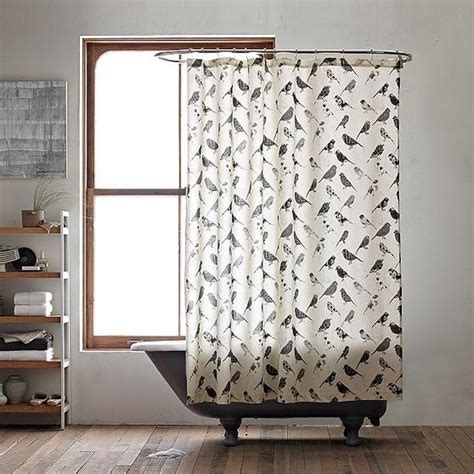 bird shower curtain 10 vintage shower curtains for look in the bathroom