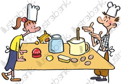 apprendre a faire la cuisine cuisine des enfants illustration autres libre de droit sur