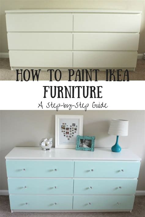 Can You Paint Ikea Furniture by How To Paint Ikea Laminate Furniture Diy Projects