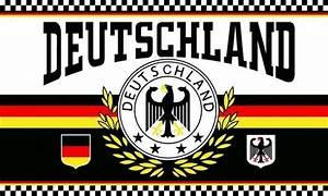 Deutschland Flagge Bilder : flaggen shop deutschland 2 lorbeerkranz 4 sterne flagge 150x250 cm kaufen bestellen ~ Markanthonyermac.com Haus und Dekorationen