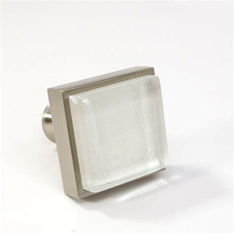 modern kitchen cabinet knobs crystal glass brushed nickel square knob modern cabinet
