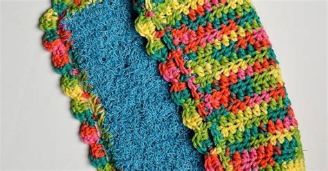 Double Sided Scrubby Dish Cloth   Dishcloth, Dishes and