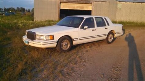 car engine manuals 1991 lincoln town car user handbook buy used 1991 lincoln town car in bisbee north dakota united states