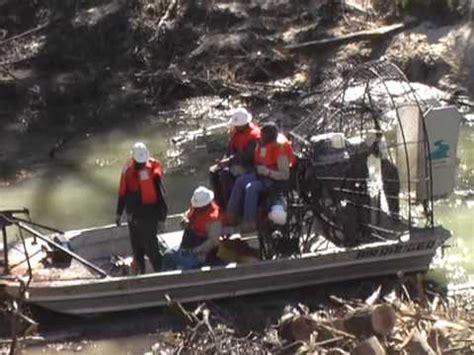 Airboat Houston by 1 Houston Flood District Maintenance Crew Buffalo