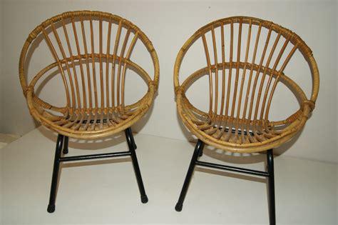 fauteuil en rotin pour enfant fauteuil enfant rotin 233 es 50 vintage kinderzeteltjes vintage goldies