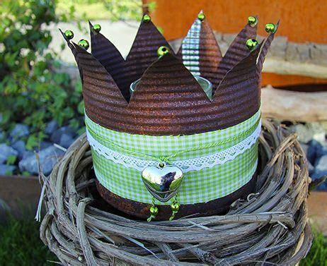 basteln mit konservendosen image result for kronen basteln aus blechdosen