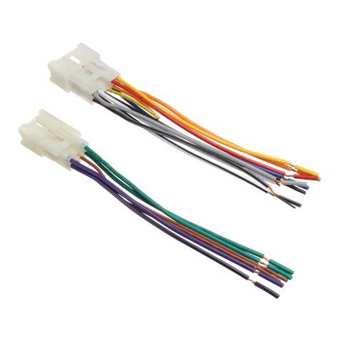 Toyotum Radio Wiring Adapter car stereo radio player wiring harness dvd adapter
