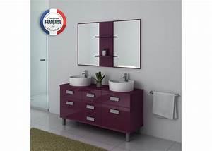 Meuble Double Vasque Sur Pied : meuble double vasque sur pieds aubergine meuble double vasque sur pieds dis911au distribain ~ Melissatoandfro.com Idées de Décoration