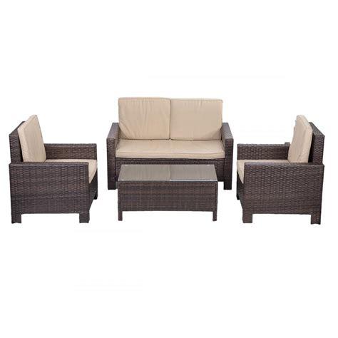 gymnastics mat ebay 4pc pe rattan wicker sofa set cushion outdoor patio sofa