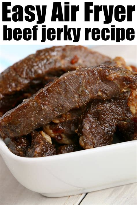 fryer air jerky beef recipes ninja foodi carb low amazing fry recipe temeculablogs snack airfryer breakfast easy ready typical shared