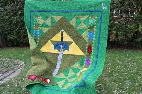Its Dangerous To Go Alone Take This Zelda Quilt Make