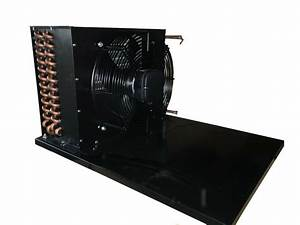 Condenser Coil With Fan For 1 5 Hp Condensing Unit Overall 25 5 U0026quot L X 17 U0026quot D X14 U0026quot H