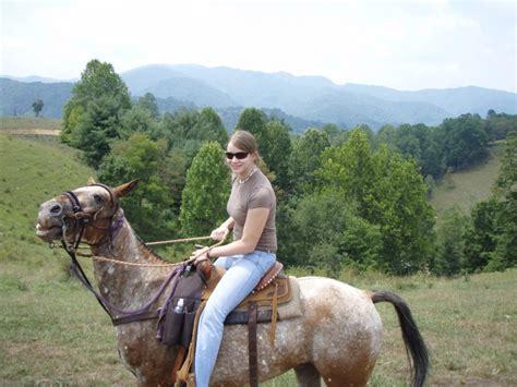 riding horseback horse bottom trail ridge mountains mountain rides trails sandy water biltmore through hiking